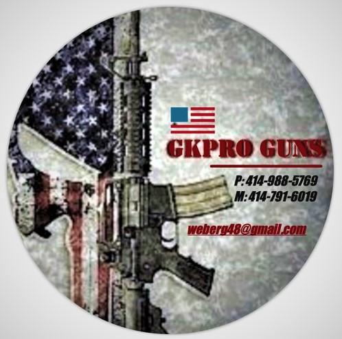 GKPRO Guns LLC. NOT a gun store-visits by appt only