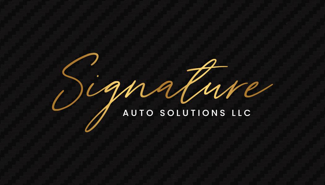 Signature Auto Solutions LLC