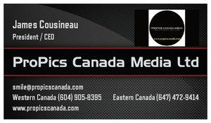 ProPics Canada Media Ltd. Formerly ProPics Canada Photography