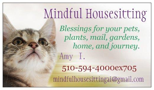 MINDFUL HOUSESITTING