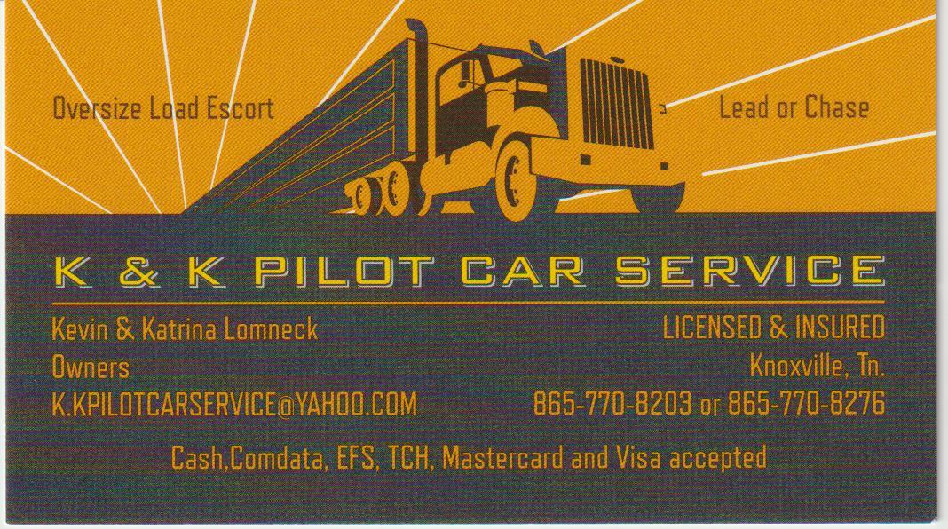 K&K Pilot Car Service