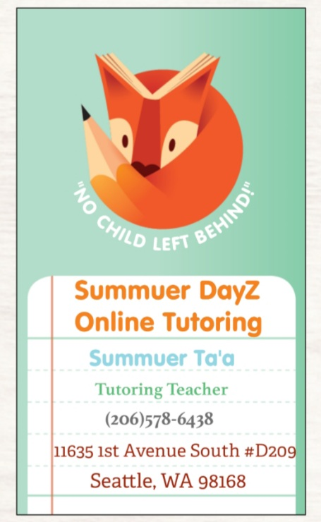 Summuer DayZ Online Tutoring