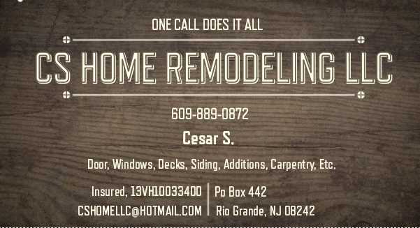 CS Home Remodeling LLC