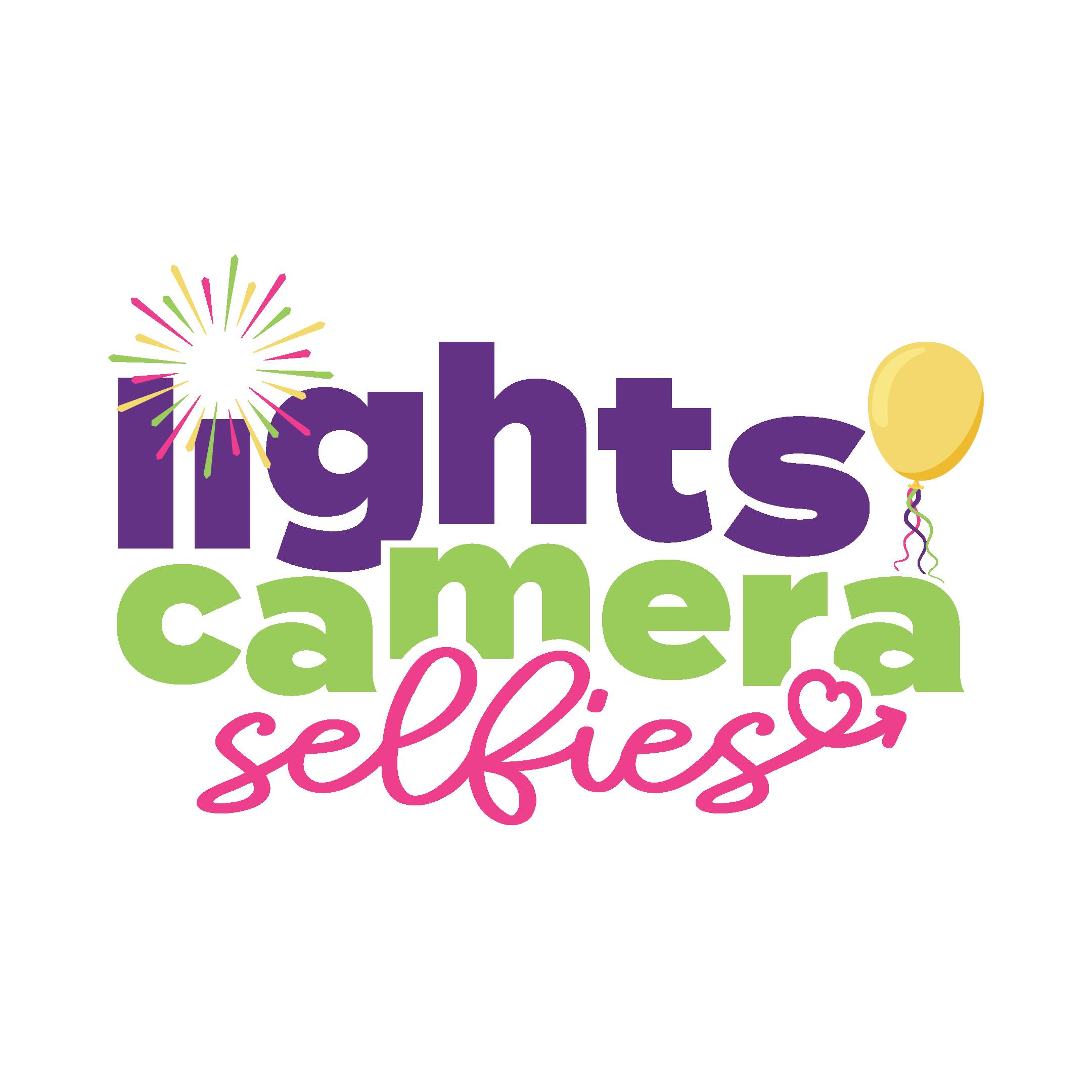 Lights Camera Selfies Balloon Studio