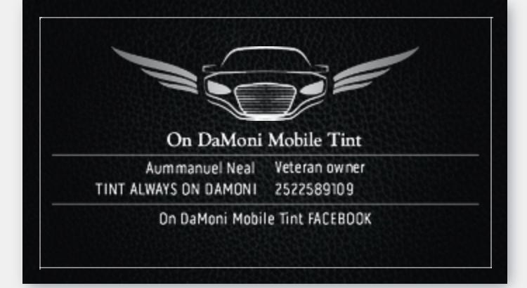 On DaMoni Mobile Tint