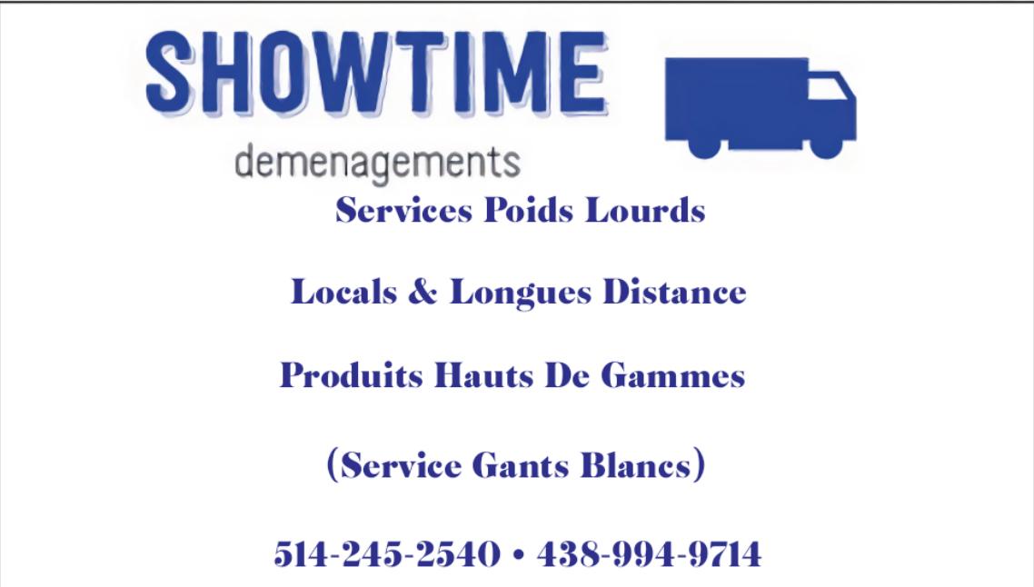 Showtime déménagements