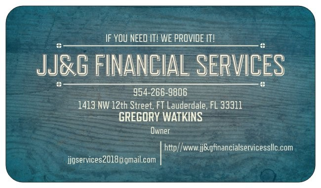JJ&G financial Services