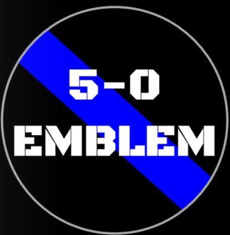 5-0 Emblem