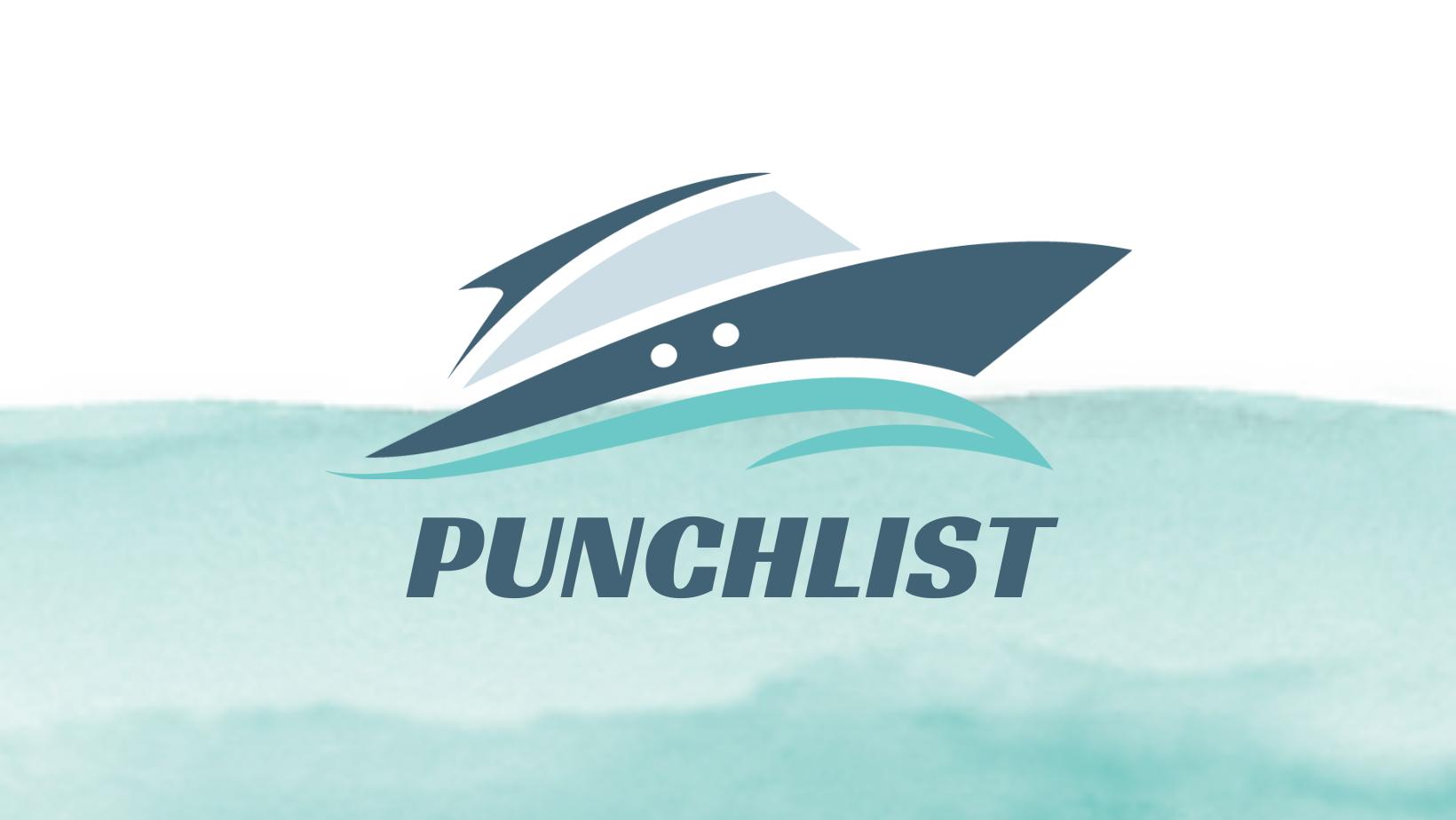 Yacht Punch List