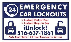 Emergency Car Lockouts in Long Island & NY