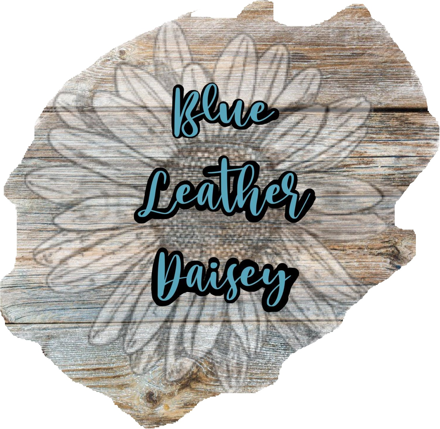 Blue Leather Daisey