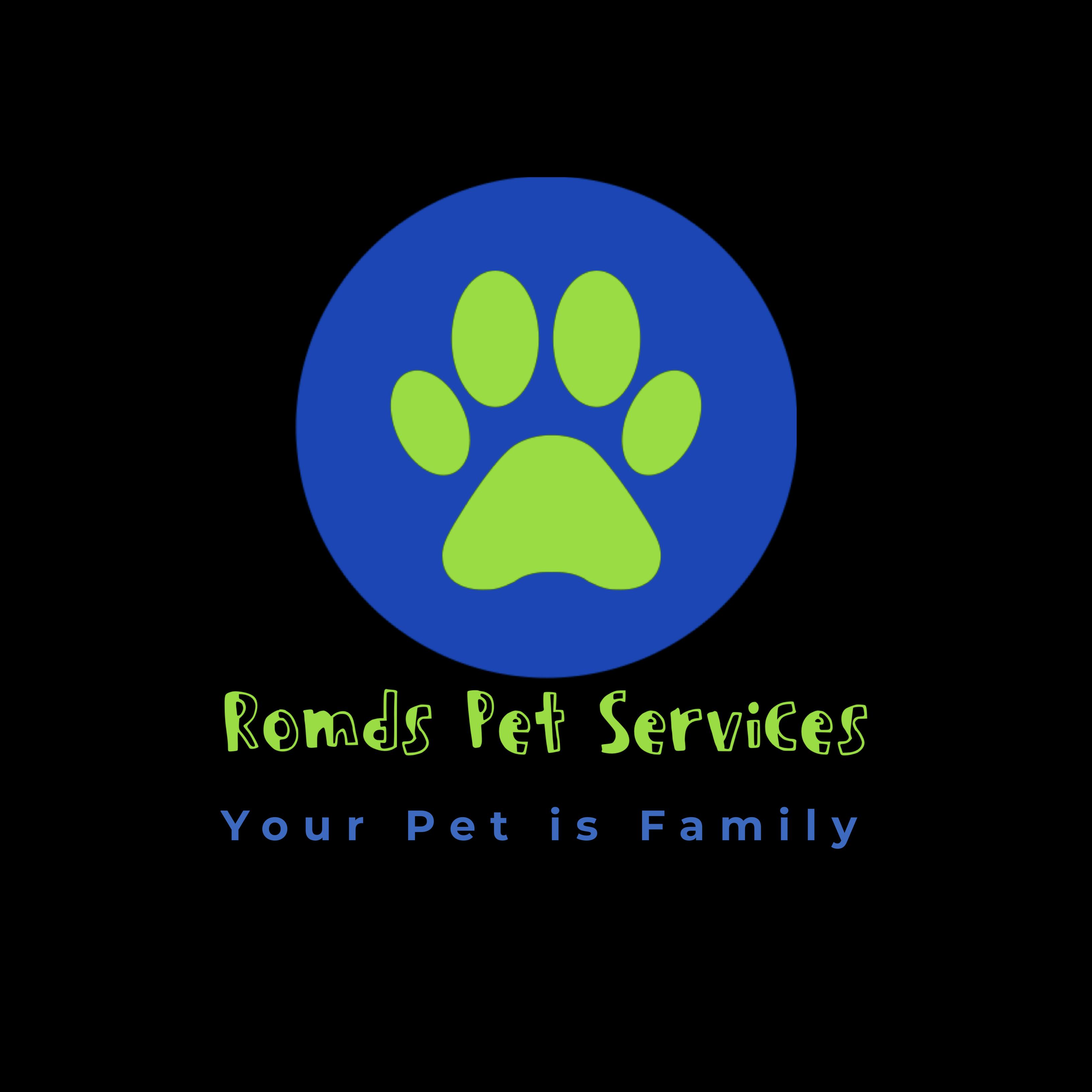 Romds Pet Services