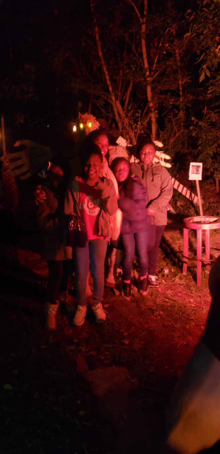 3-D haunted house & museum