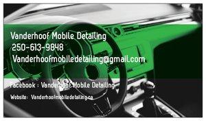 Vanderhoof Mobile Detailing