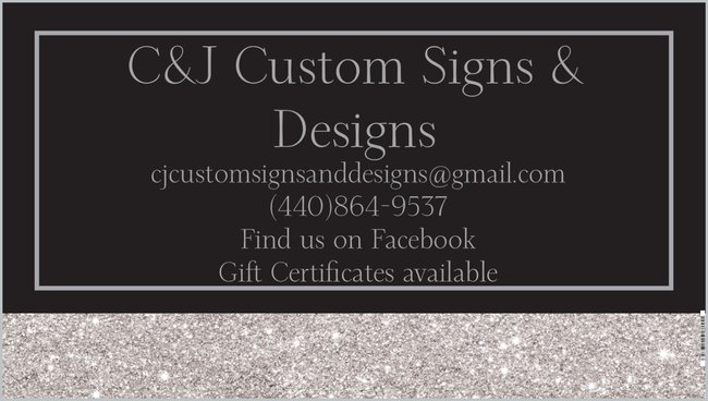 C&J Custom Signs and Designs