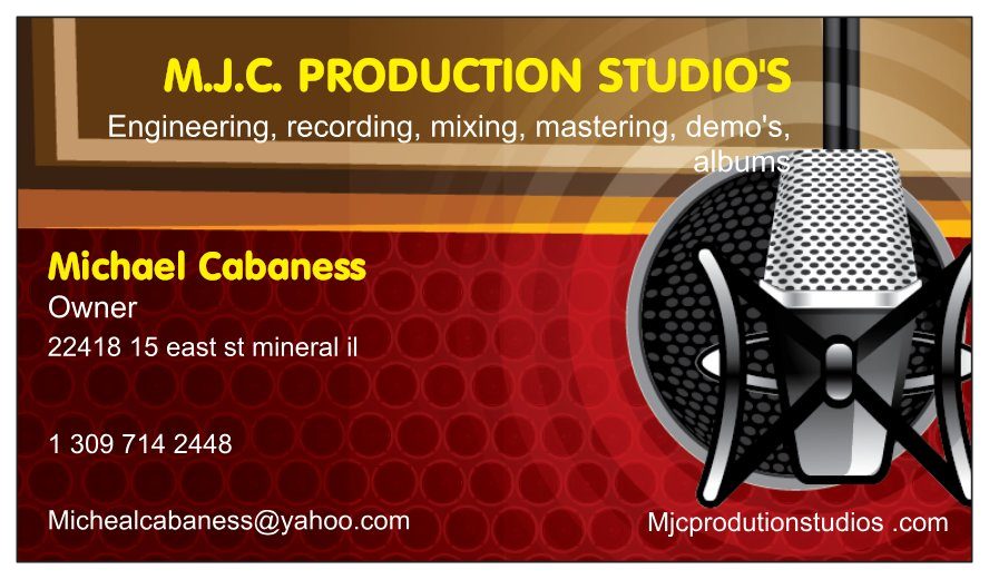 MJC PRODUCTION STUDIOS. COM