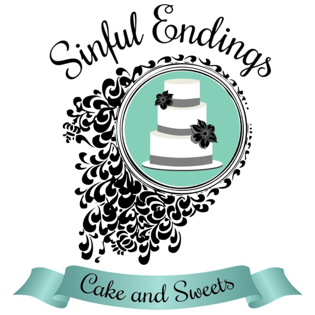 Sinful Endings cake and sweets
