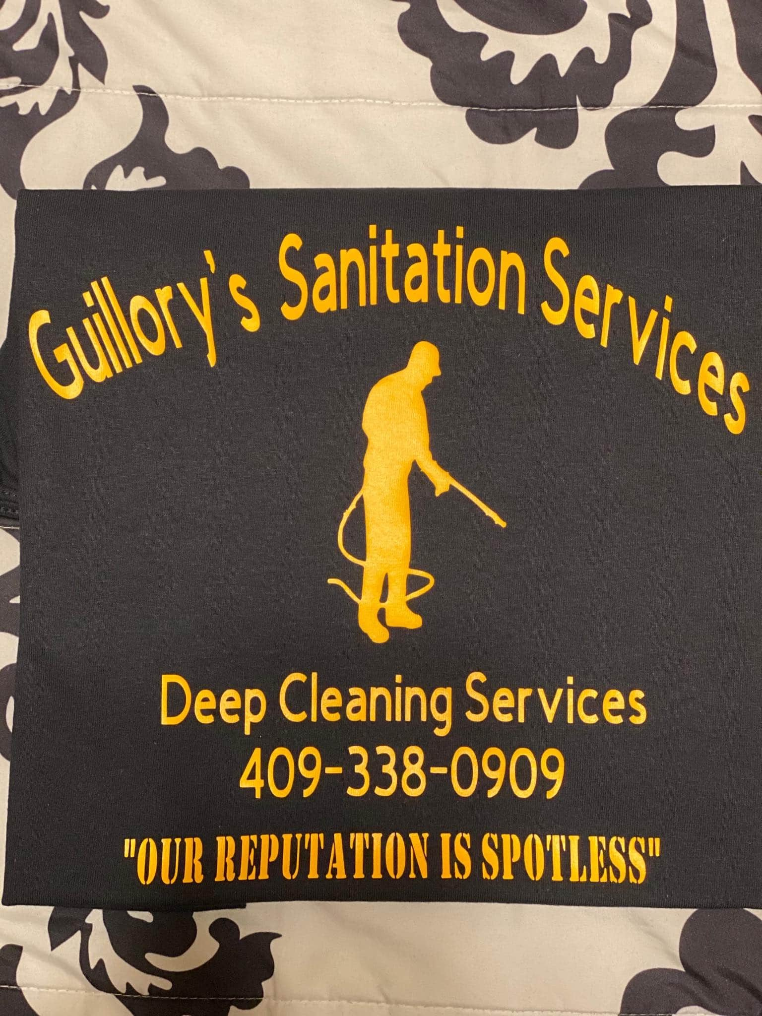 Guillory's Sanitization Service