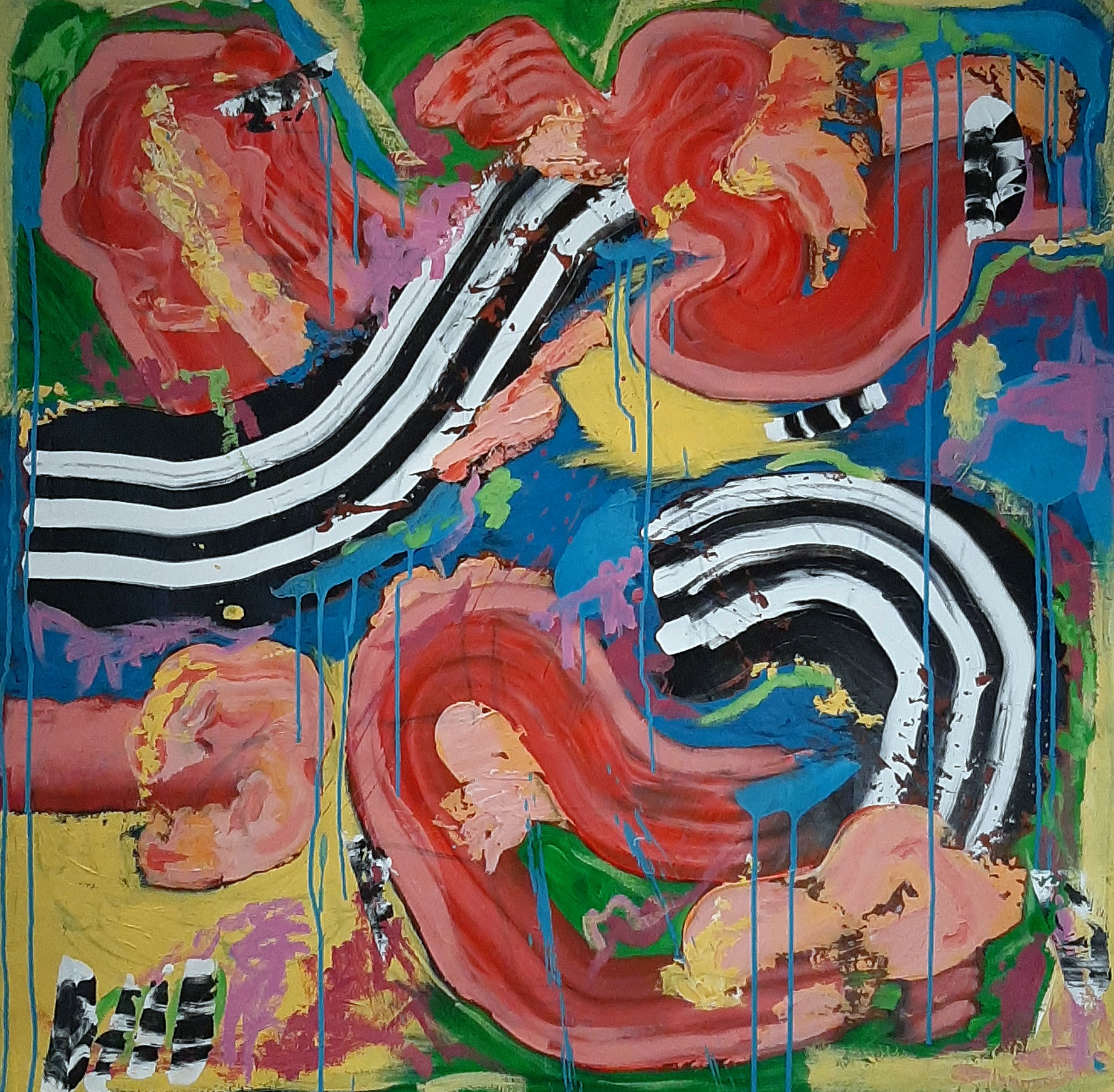 Victoria Manning Abstract Paintings