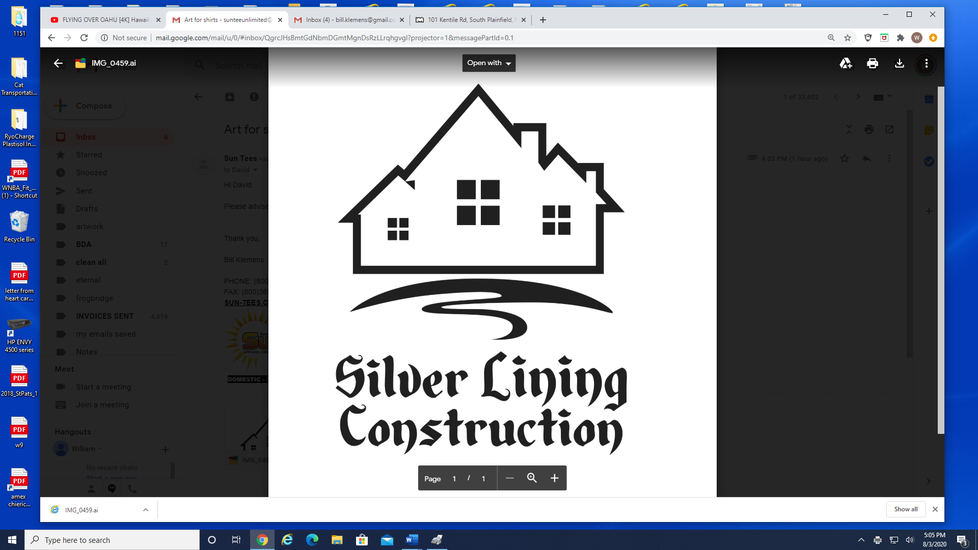 Silver Lining Construction