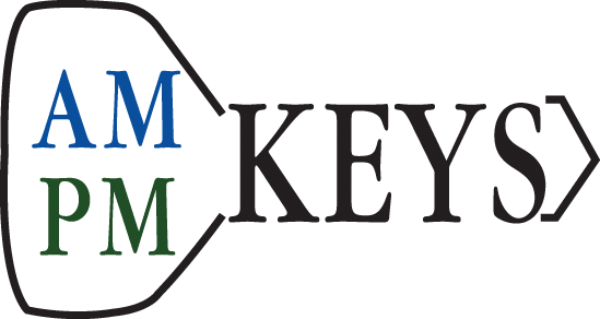 AM PM Keys
