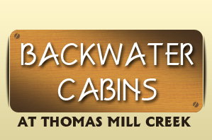 Back Water Cabins at Thomas Mill Creek