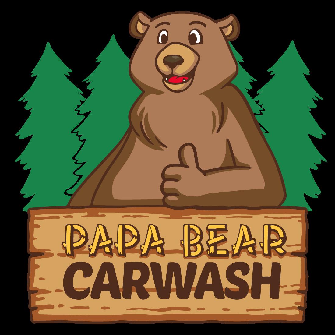 Papa Bear Car Wash