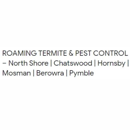 ROAMING TERMITE & PEST CONTROL
