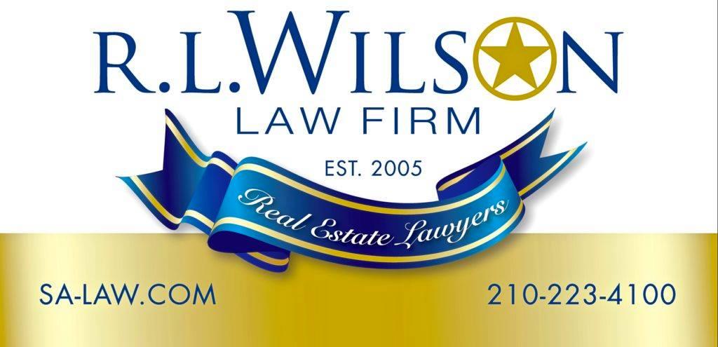 R L WILSON LAW FIRM SAN ANTONIO REAL ESTATE LAWYERS