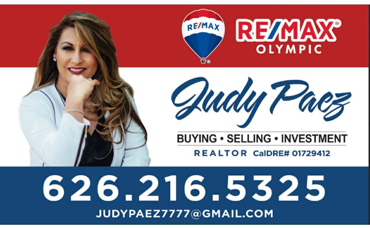 Judy Paez Realtor Remax Olympic West Covina