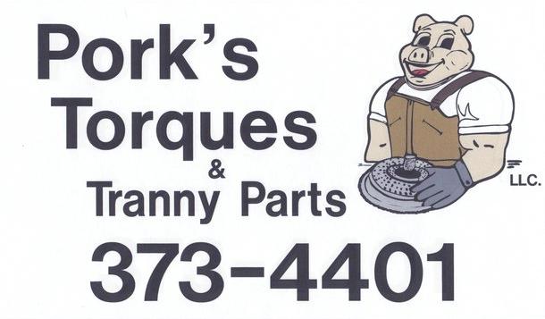 Porks Torques and Tranny Parts