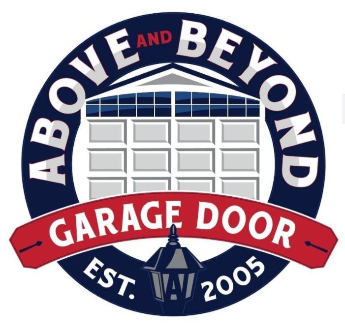 Above & Beyond Garage Doors & Repair Holbrook