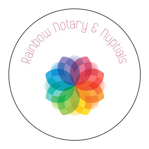 Rainbow Mobile Notary And Nuptials Wedding Officiants Network