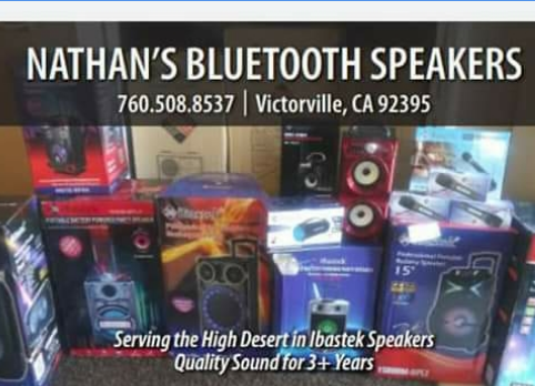 NATHAN BLUETOOTH SPEAKERS