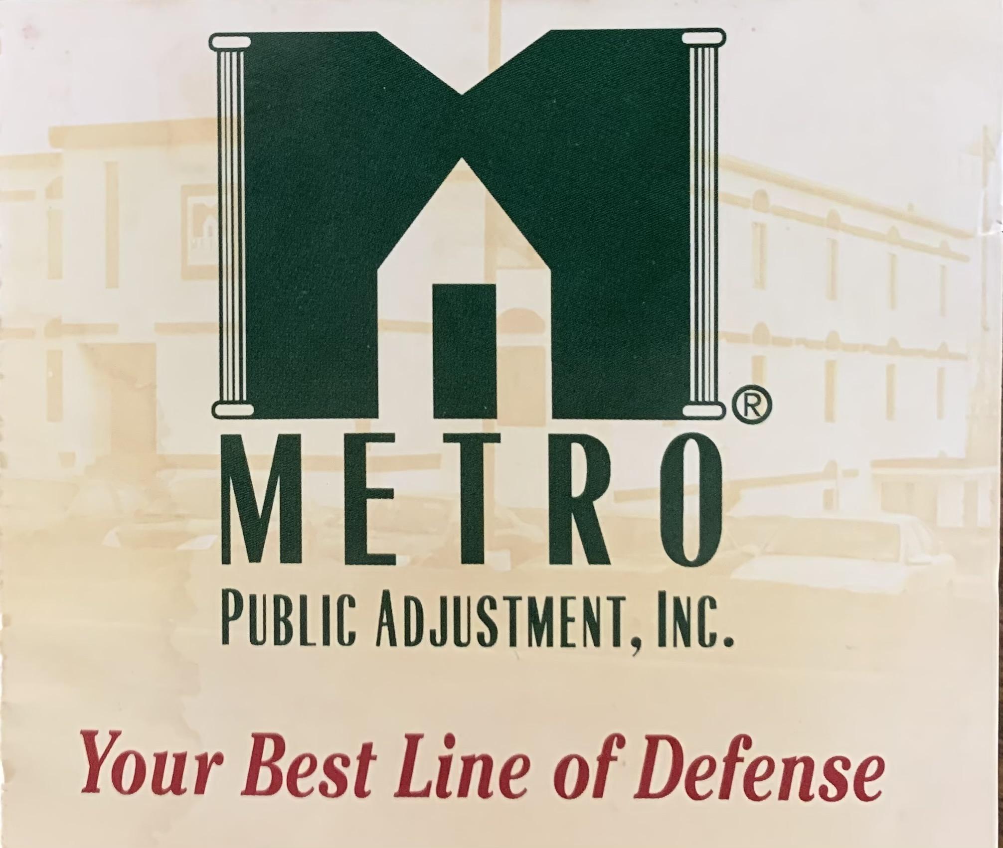 Metro Public Adjuster - Thomas Barbour