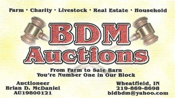 BDM AUCTIONS