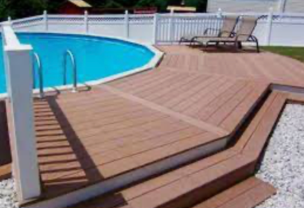 Reds Above Ground Pools and Decks