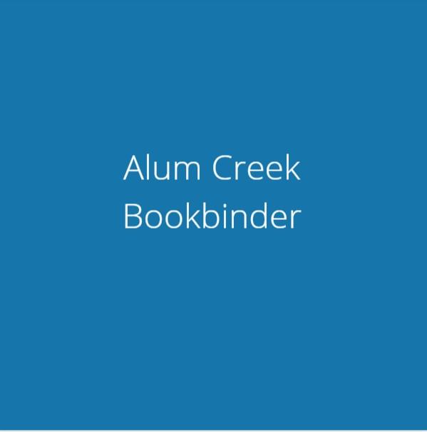 Alum Creek Bookbinder