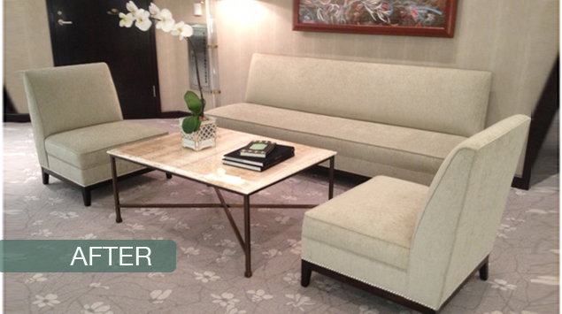 JCF Decorators Upholstery and Window Treatment