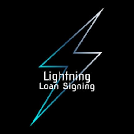 Lightning Loan Signing