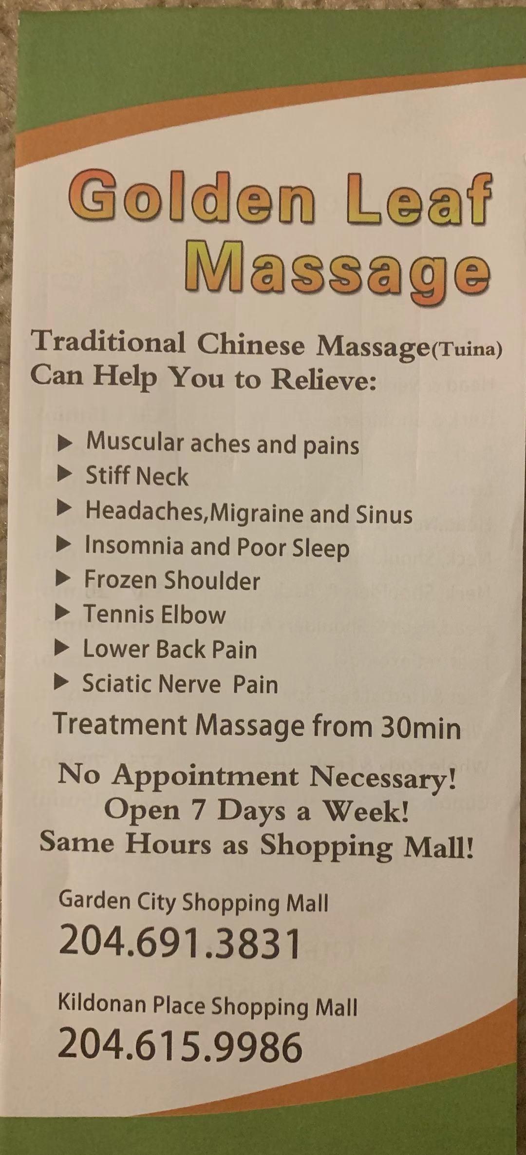 Golden Leaf Massage & Brow Bar