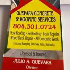 Guevara's Concrete & Roof Services