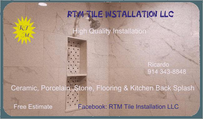 RTM Tile Installation LLC