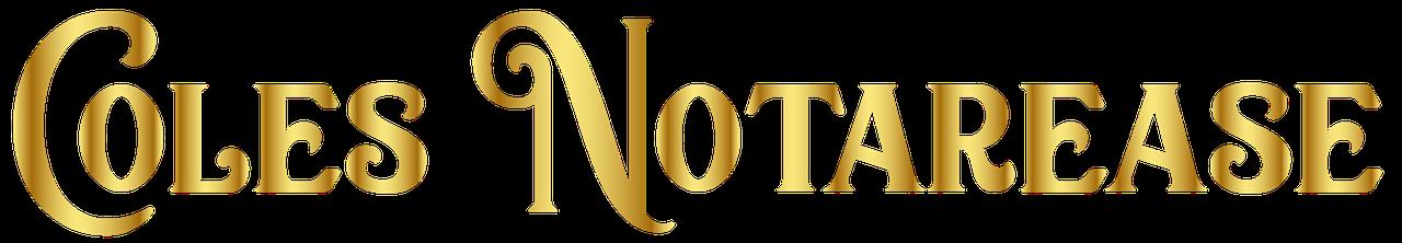 Coles Notarease